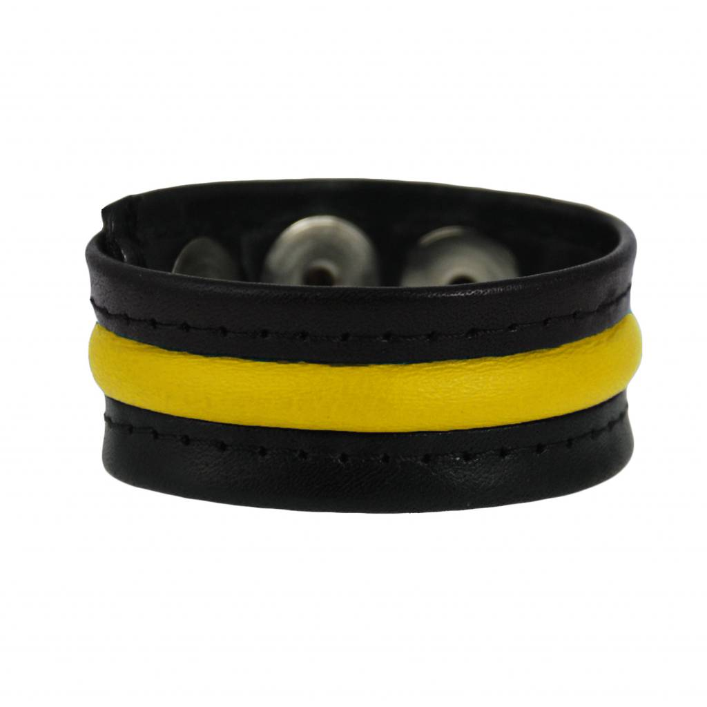 RoB 3-Snap-Cockstrap Black/Yellow