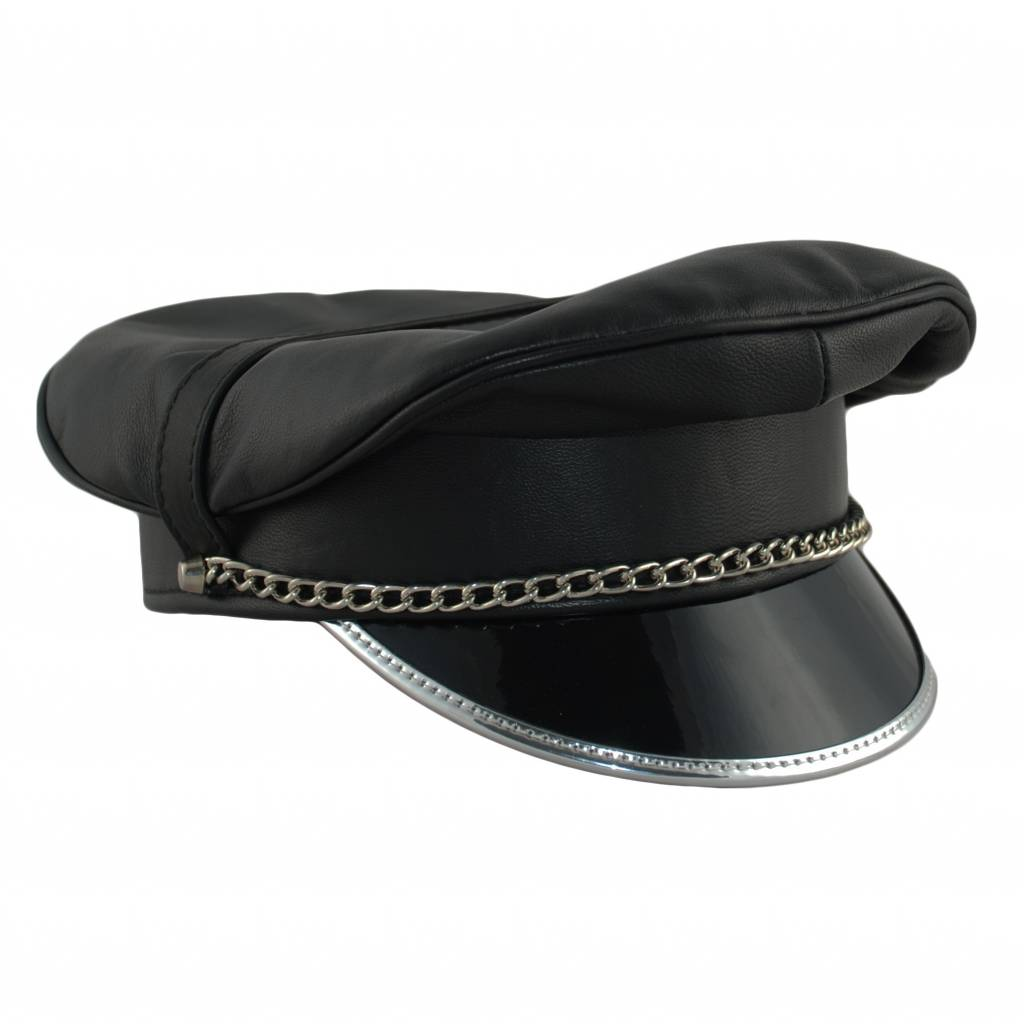 RoB Leather Military Cap