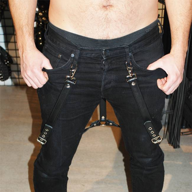 RoB Leather Braces Stiched
