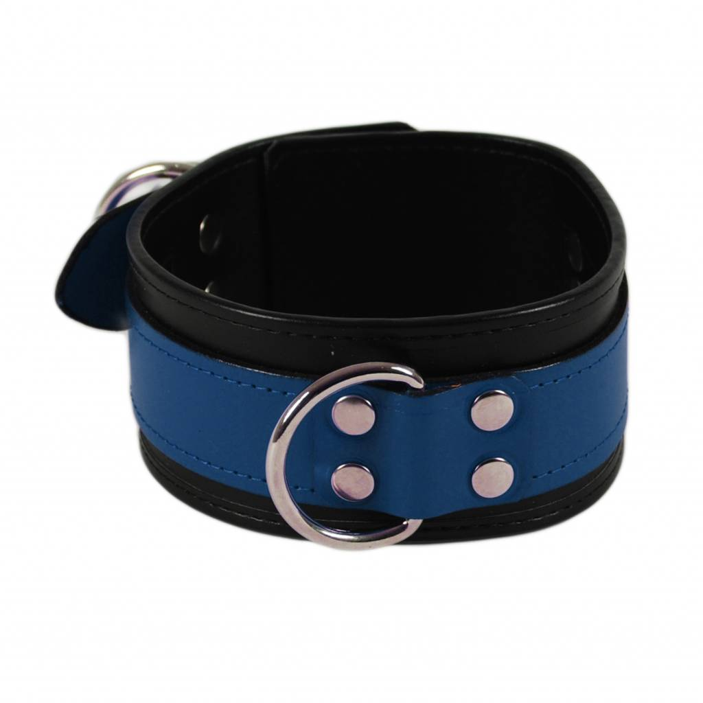 RoB Leather Collar Blue