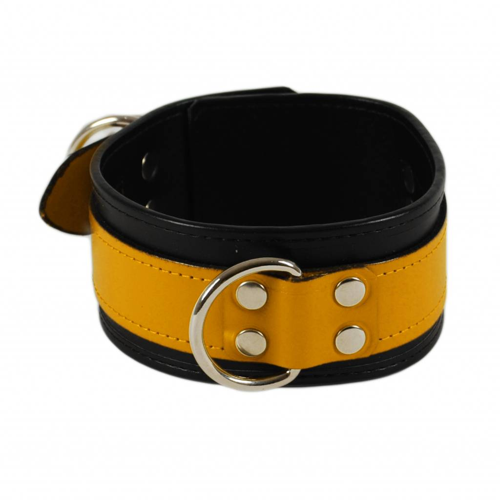 RoB Leather Collar Yellow