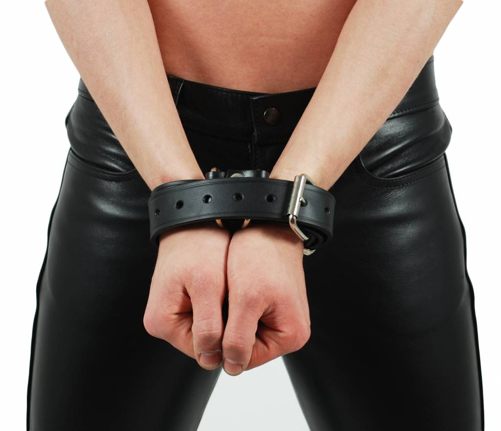 RoB RoB Leather Handcuff Belt