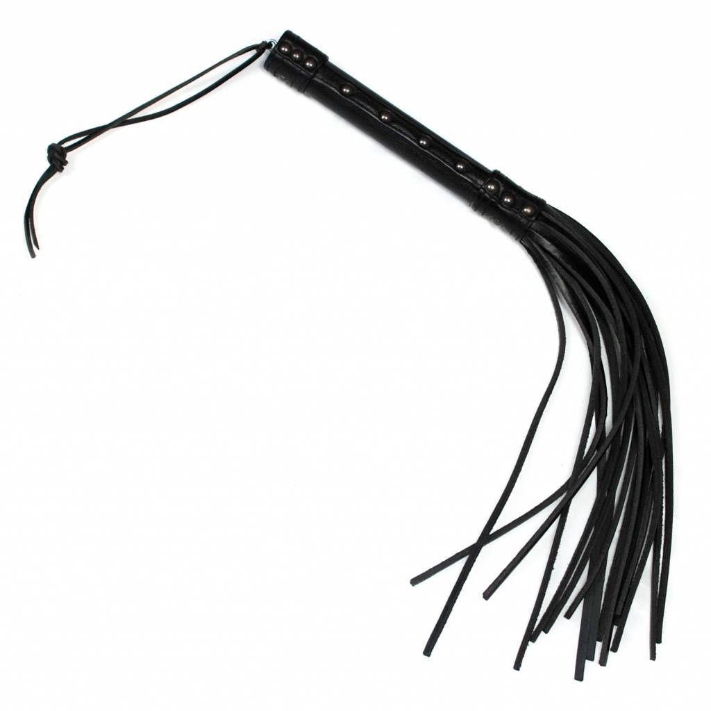 RoB Leather Short Flogger hard tail