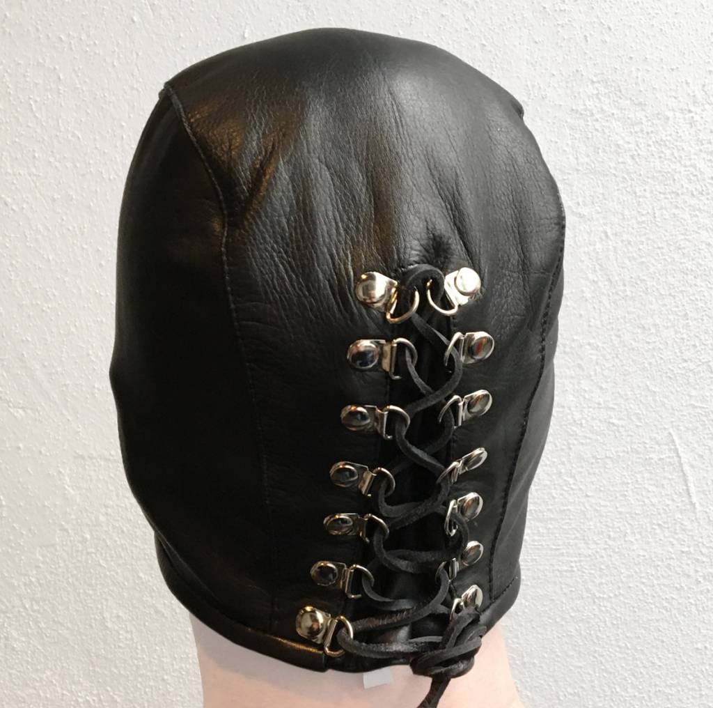 RoB Leather Half Hood Lace-Up