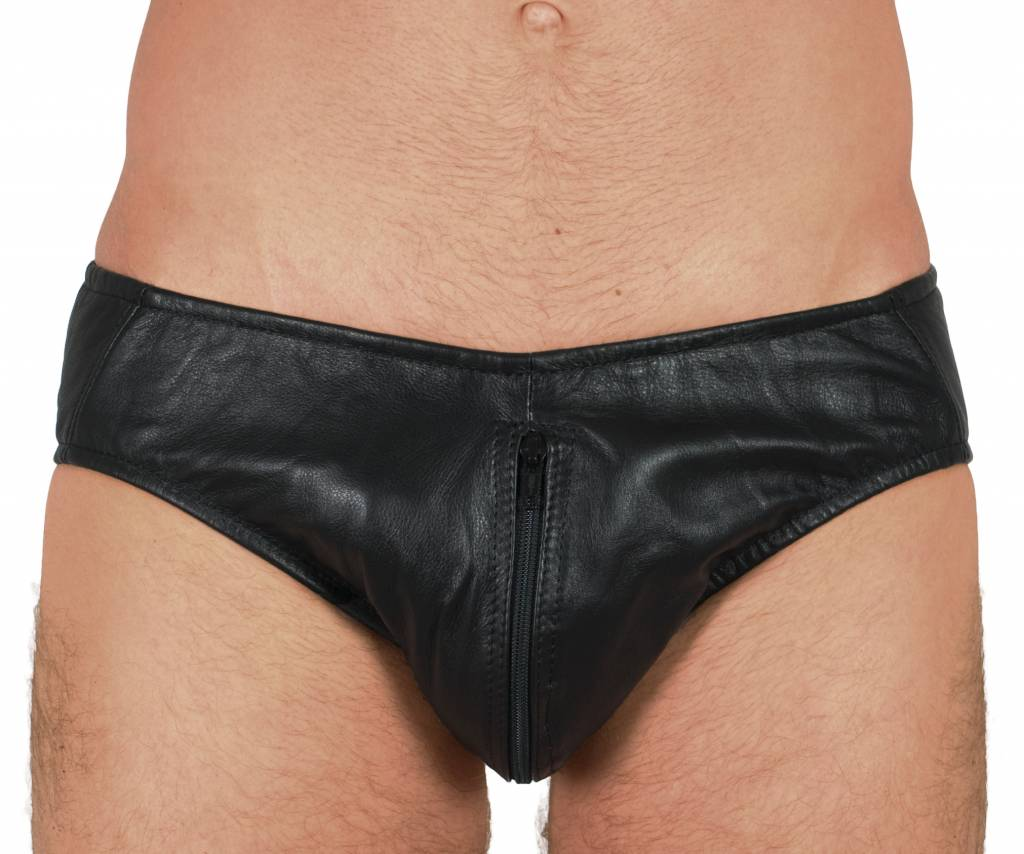 RoB Leather Brief with Full Zip