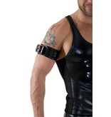 RoB Leather Bicepsband with Buckle, Black