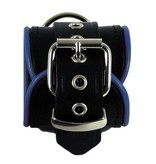 RoB Leather Wrist Restaints Blue Piping