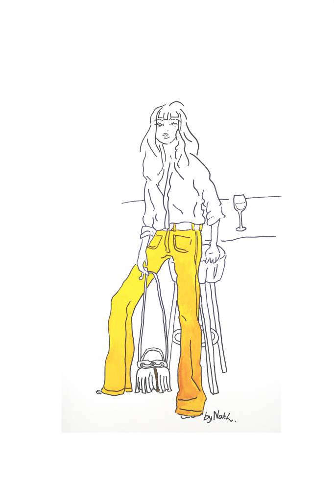 ART PRINT GOLDEN GIRL