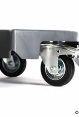 Ahcon Ahcon Wheelax Wheel Trolley XL  ( 2 pcs. ) one locking caster