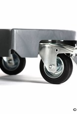 Ahcon Ahcon Wheelax Wheel Trolley XL ( 2 stuks ) 1 geremd zwenkwiel