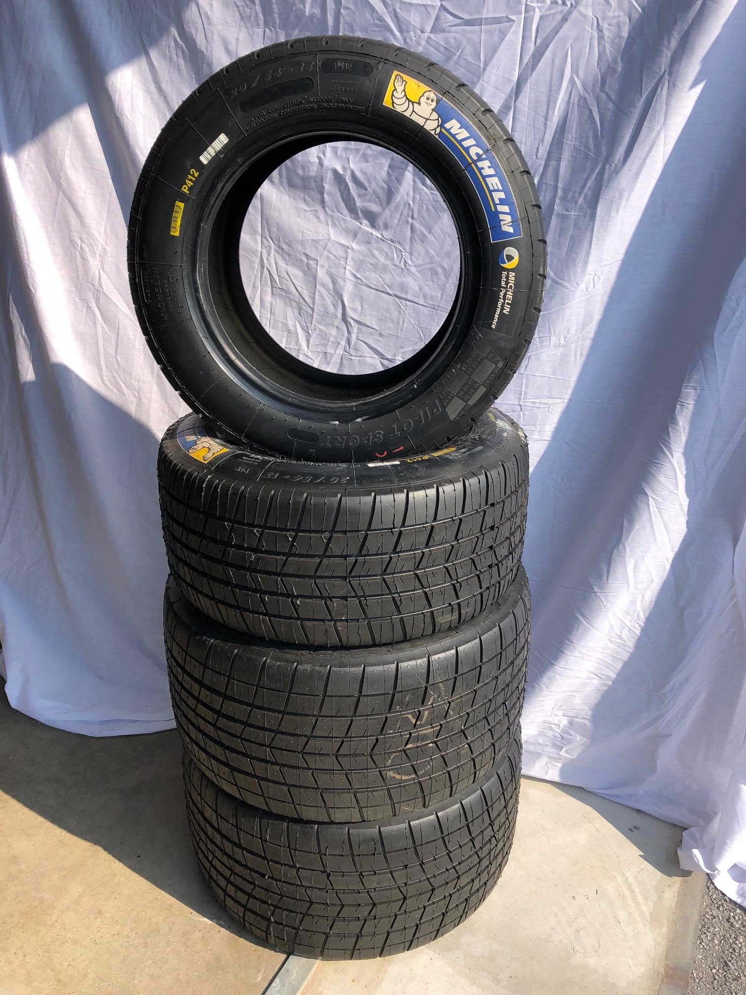 Michelin Nouveau Michelin P412 Set  (4 pieces)