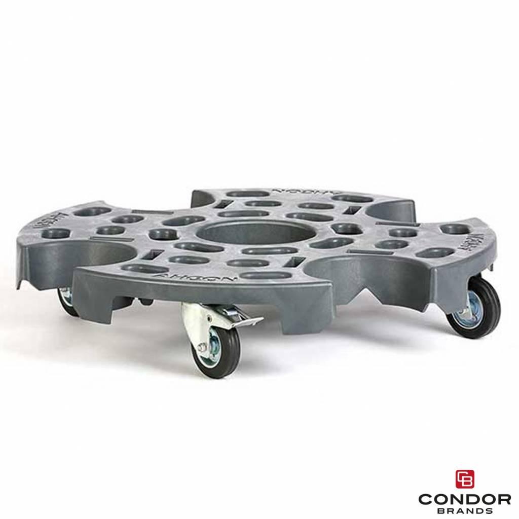 Ahcon Ahcon Wheelax Wheel Trolley XL   one locking caster