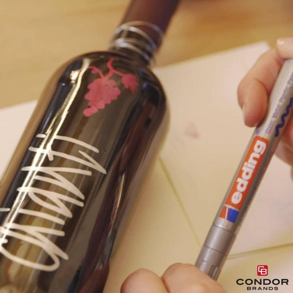 Edding Edding 751 Marqueur de peinture , Taille d'écriture 1-2 mm