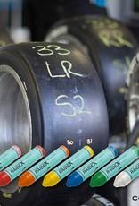 RaideX Sisa RAIDEX Sisa Craie grasse à pneu 9.5 x 1.75 cm