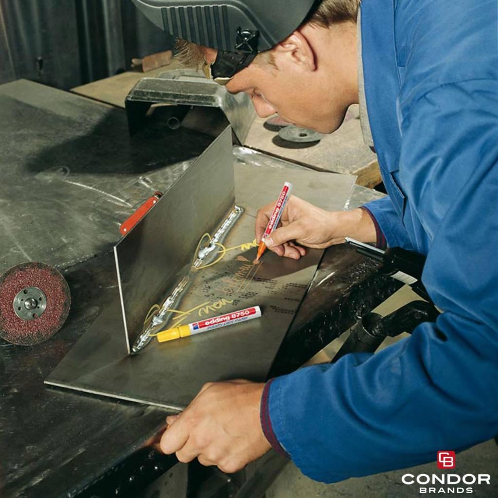 Edding Edding 8750 Marqueur peinture spécial industrie – le poids lourd de l'industrie