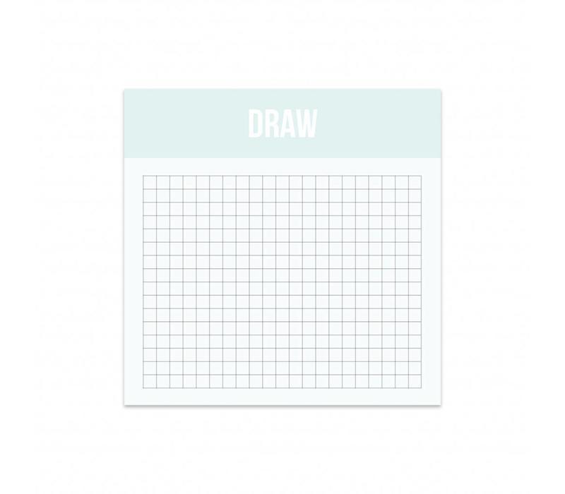 Mini Draw, per 5 stuks