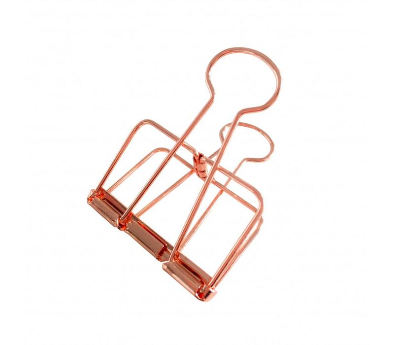 Binder clips Copper XL, per 4 doosjes