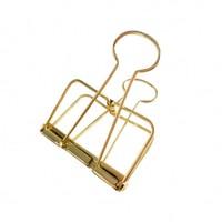 Binder clips Gold XL, per 4 doosjes