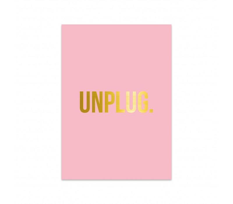 Card Unplug, per 5 pieces