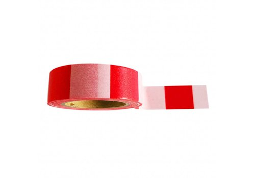 Studio Stationery Washi tape Pink red, per 9 stuks