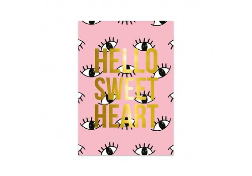 Studio Stationery Card Eyes, per 5 pieces