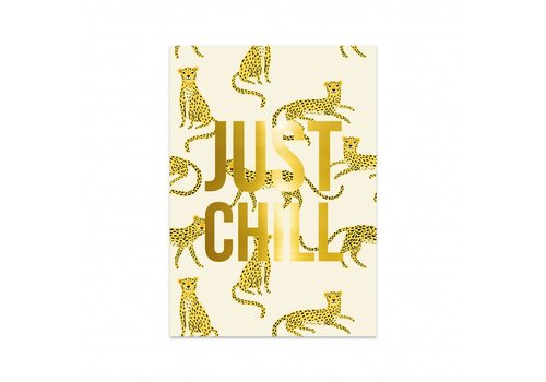 Studio Stationery Card Panther, per 5 pieces