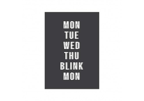 Studio Stationery Card Blink, per 5 pieces