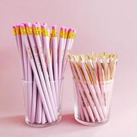 Pretty pink Pencil set, per 10 stuks