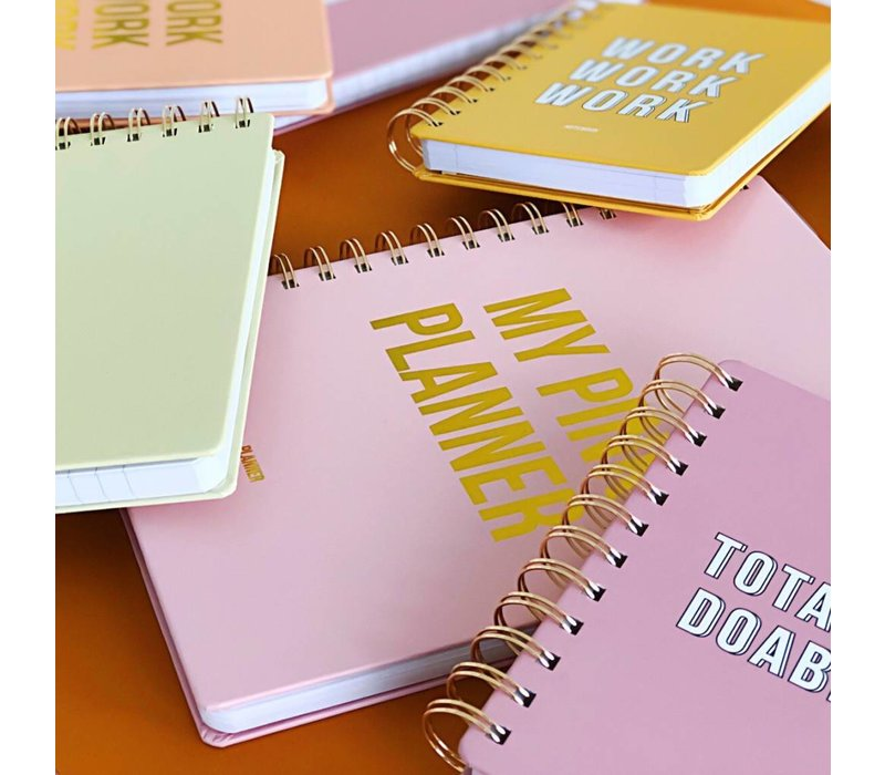 Notebook Totally doable Pink, per 3 pieces