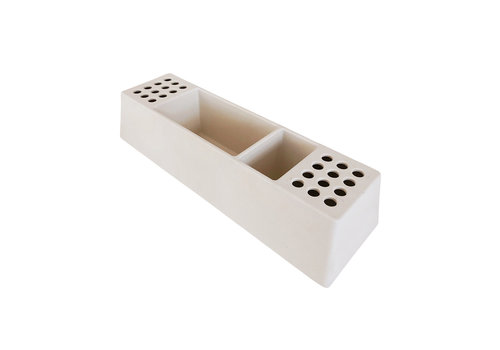 Studio Stationery Desk organizer Pens white, per 2 stuks
