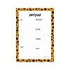 Studio Stationery Notepad Cheetah, per 5 stuks