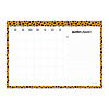 Studio Stationery Monthly planner Cheetah, per 5 stuks