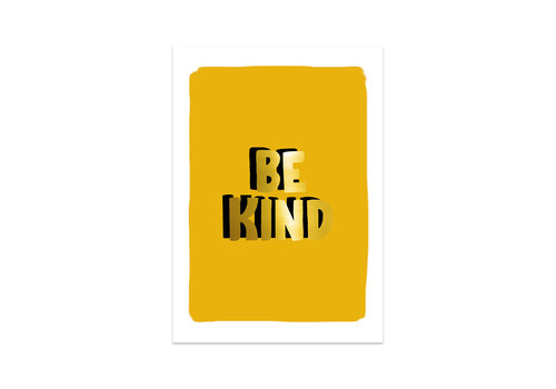 Studio Stationery Kaart Be kind, per 5 stuks