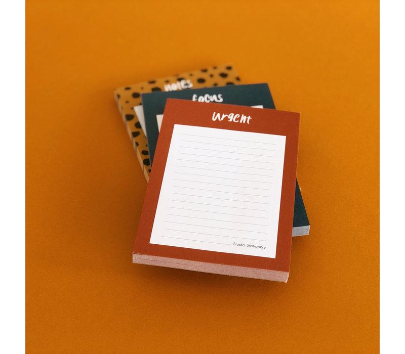 Noteblock Notes, per 6 pieces