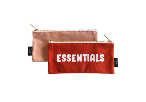 Studio Stationery Canvas bag Essentials, per 5 stuks
