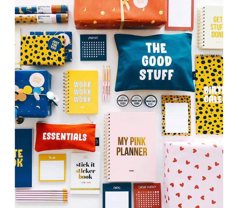 Canvas bag Essentials, per 5 stuks