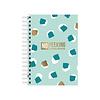 Studio Stationery A6 Notebook softcover No Peeking - Password organizer, per 3 stuks