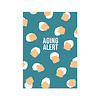 Studio Stationery Card Aging Alert, per 10 pieces