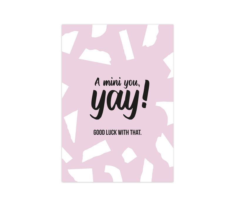 Card A mini You, per 10 pieces