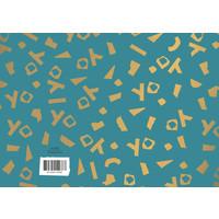 Greeting card YO,  per 10 pieces