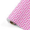 Studio Stationery Cadeaupapier Dots roze/neon 70x200 cm, per 10