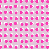 Gift wrap Dots pink/neon 70x200 cm, per 10