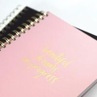Planner My pink planner, per 3 stuks