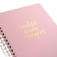 Planner My pink planner, per 3 pieces
