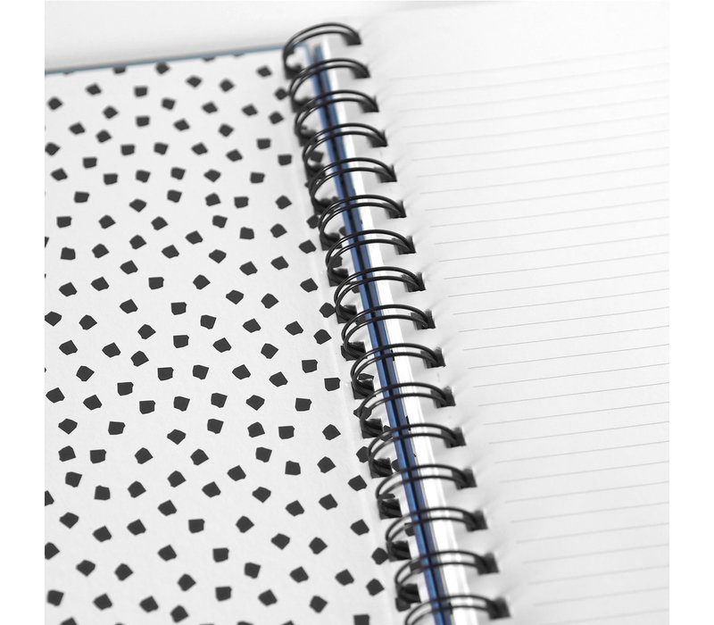 My Blue Notebook Thoughts loading, per 3 stuks