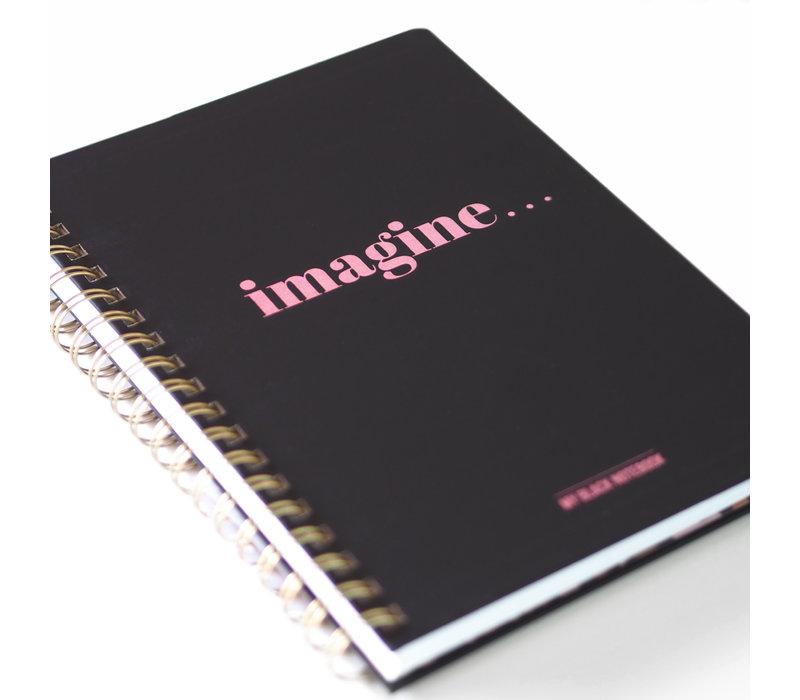 My Black Notebook Imagine, per 3 pieces
