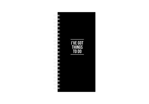 Studio Stationery To Do Notebook I've got things to do, per 3 stuks