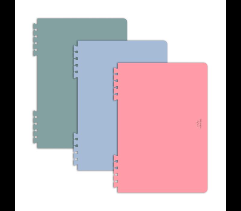 Design Tabs Dots & Metallics, per 5 sets