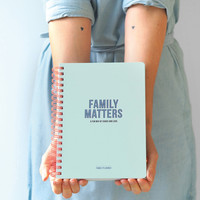 Family Planner - Family Matters, per 3 pieces