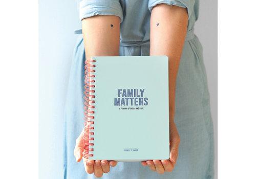 Studio Stationery Family Planner - Family Matters, per 3 stuks